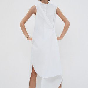 COS COTTON SHIRT DRESS